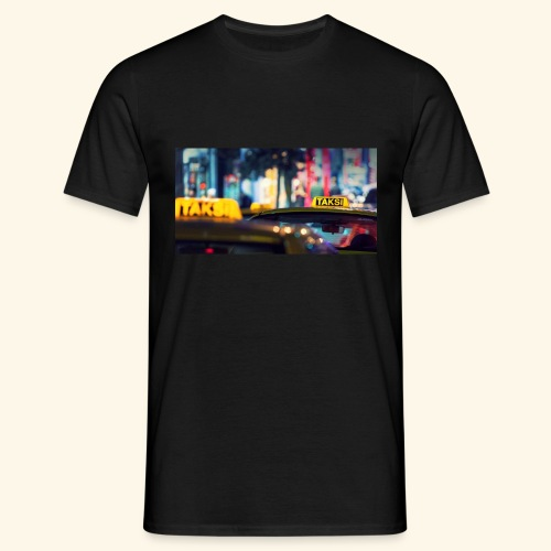 Taksi - Männer T-Shirt