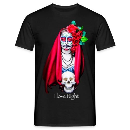 Catrina I love night - Camiseta hombre