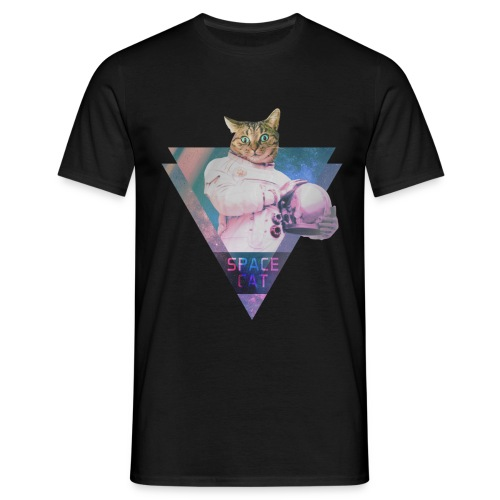 SPACE CAT - Männer T-Shirt