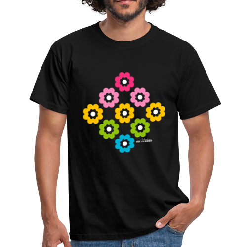 RAINBOW BLOOM - Miesten t-paita