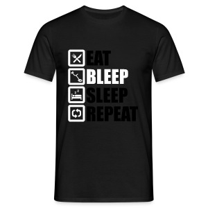 EAT BLEEP SLEEP REPEAT - Men's T-Shirt