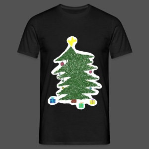 Christmas Kids-Drawing - Männer T-Shirt