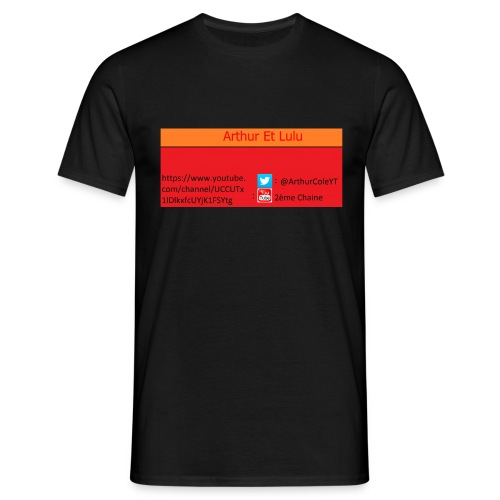 Arthur Et Lulu - T-shirt Homme