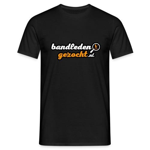 Bandledengezocht.nl - Mannen T-shirt