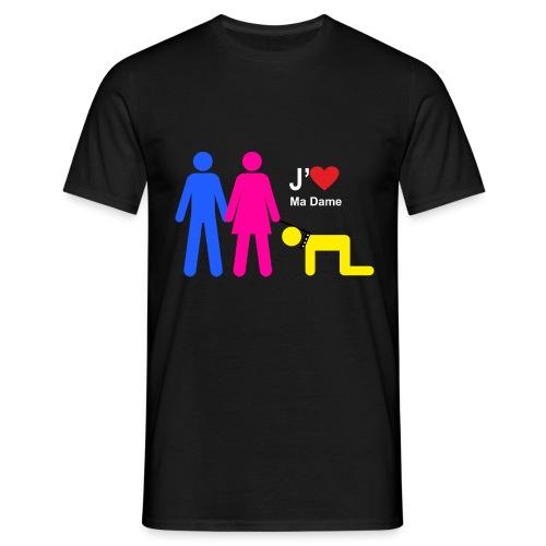 j aime ma dame - T-shirt Homme