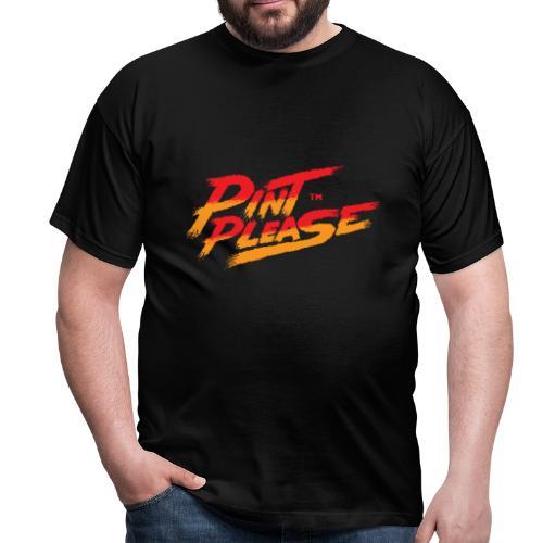 Pint Please Beer App - 8-bit Logo - Men's T-Shirt