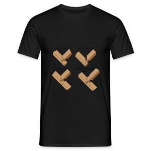Lap joints - Men's T-Shirt