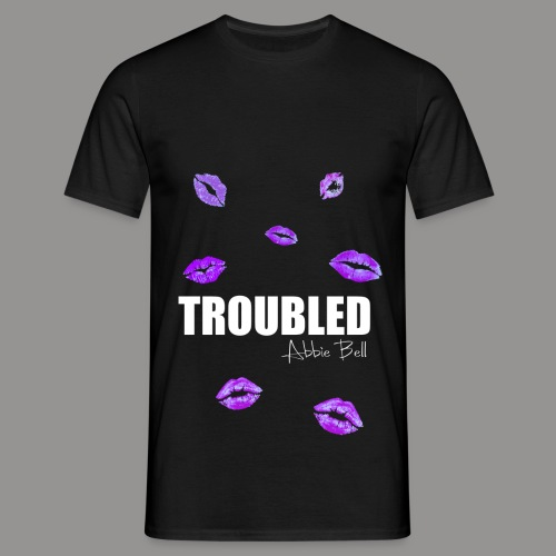 TROUBLED KISSES T-shirt - Men's T-Shirt