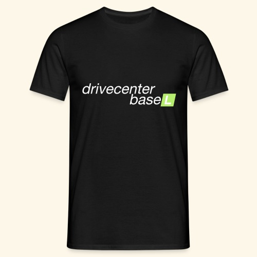 drive center logo - Männer T-Shirt
