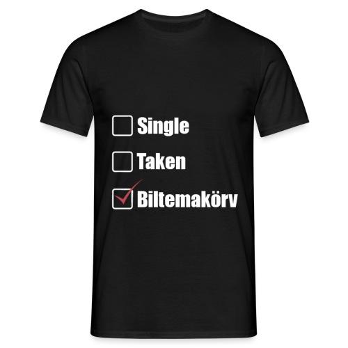 Single Taken ✔Biltemakörv - T-shirt herr