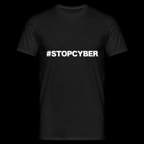 #stopcyber - Männer T-Shirt