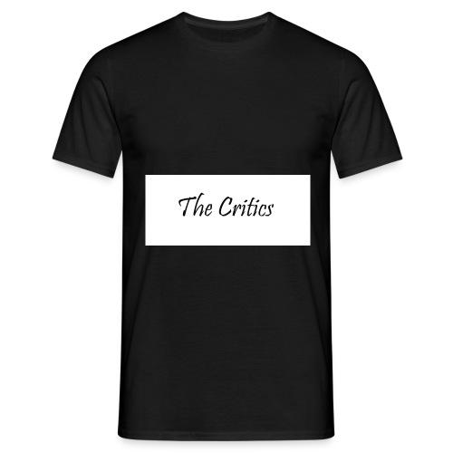 The Critics white t-shirts - Men's T-Shirt