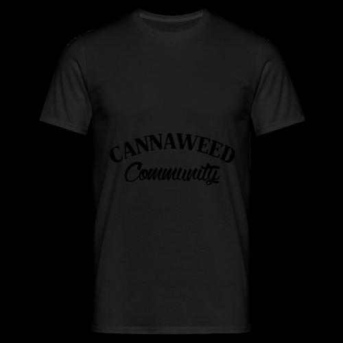 noir sur blanc CWD Communauté - T-shirt Homme