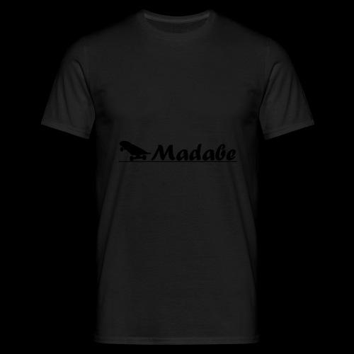Cap black - Männer T-Shirt