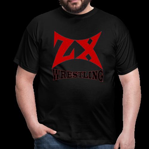 ZX WRESTLING LOGO V3 (FORBIDDEN TO REJECT) - Men's T-Shirt