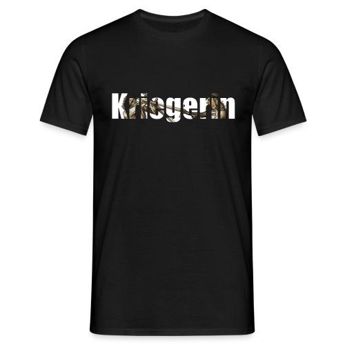 kriegerin - Männer T-Shirt