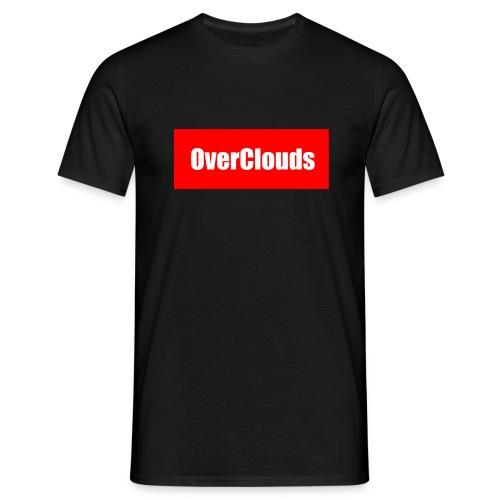 OverClouds Box Logo - Maglietta da uomo