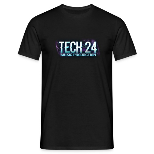 Tech 24 Logo - Men's T-Shirt