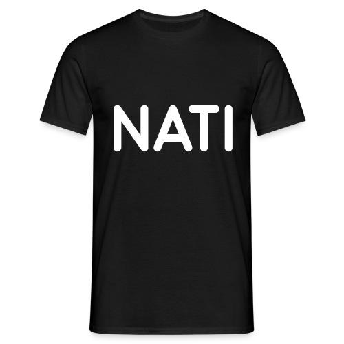 NATI Original - Hvid - Herre-T-shirt