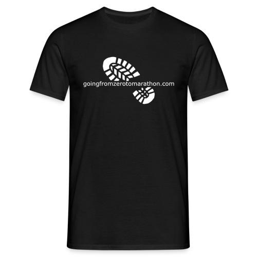 Going From Zero To Marathon - Men's T-Shirt