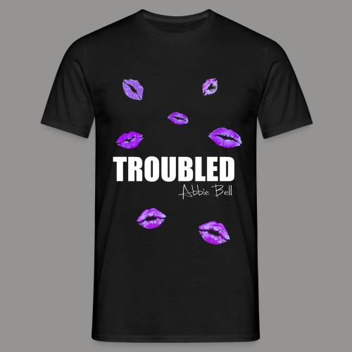 TROUBLED KISSES T-shirt - Men's T-Shirt