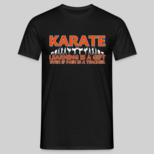 Karate double evolution (6) - Men's T-Shirt