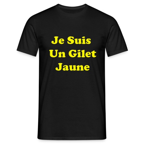 Gilet Jaune - T-shirt Homme
