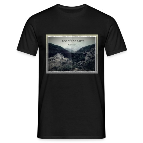 face of the earth - Mannen T-shirt