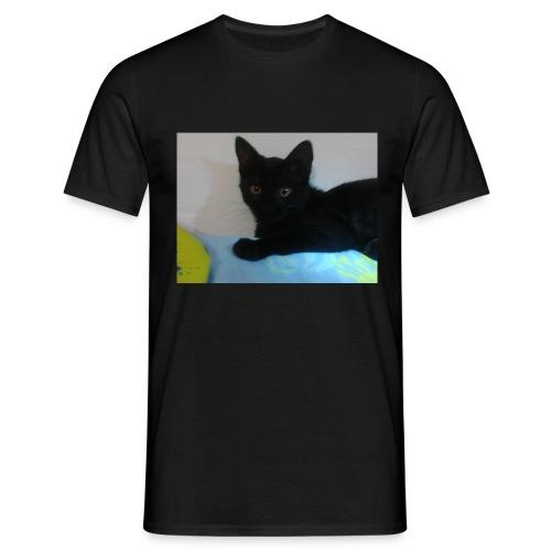 gato negro - Camiseta hombre