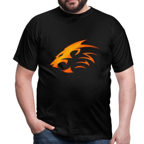 Rian The Lion Orange Logo - T-shirt herr