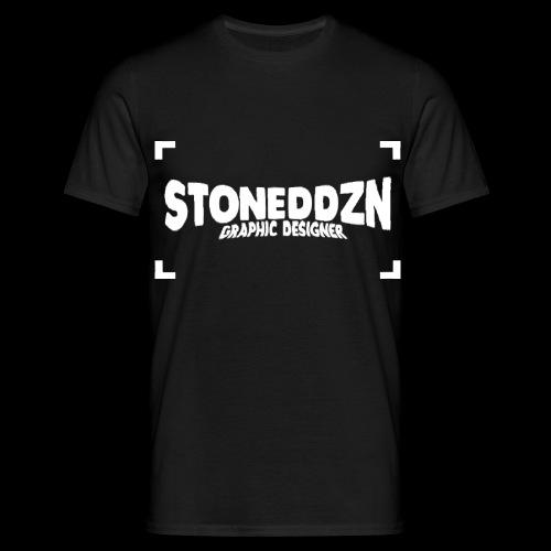 Da ist das YouTube Logo von StonedDzn - Männer T-Shirt