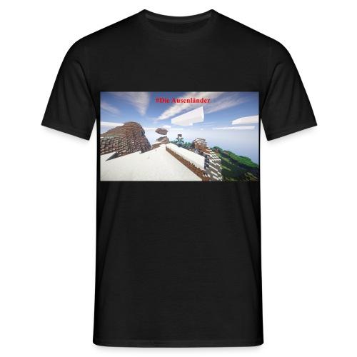 Minecraft Ausenländer - Männer T-Shirt