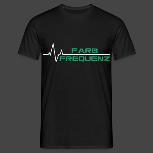 FarbFrequenz - Logo - Männer T-Shirt
