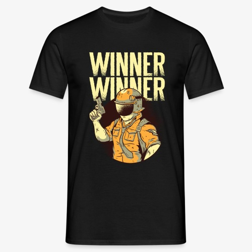 Winner Winner Gaming Gamer - Men's T-Shirt