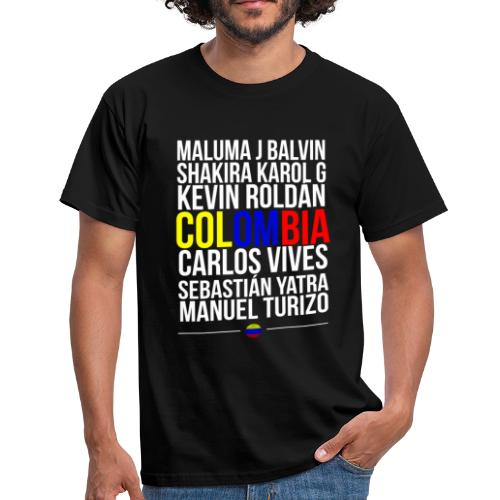 Reggaeton Shirt Kolumbien - Männer T-Shirt