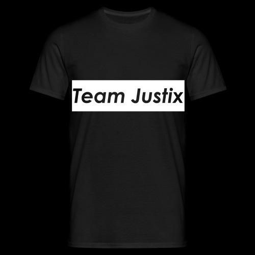 Team Justix im Supremestyle (weiß) - Männer T-Shirt