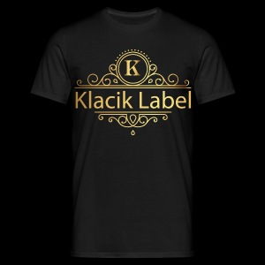 Klacik Label Gold Logo - T-shirt Homme