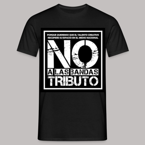 No a las bandas tributo - Camiseta hombre
