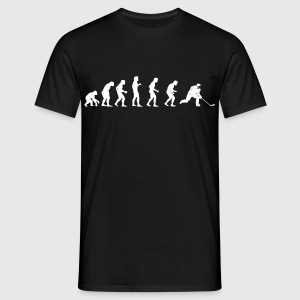 människans evolution Hockey - T-shirt herr