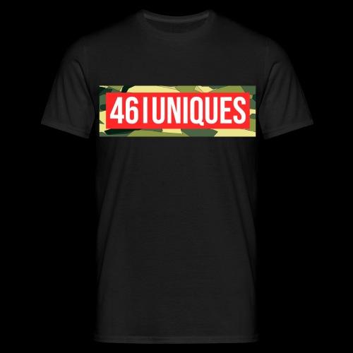 fourtysix red camo - Männer T-Shirt