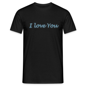 i love you T-shirt - T-shirt Homme