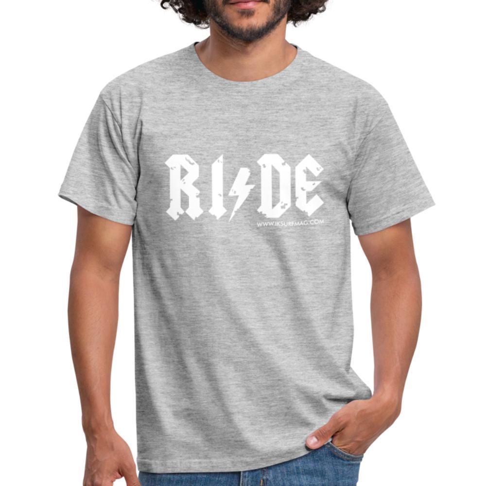 RIDE - Men's T-Shirt - heather grey