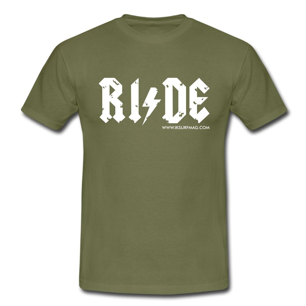 RIDE - Men's T-Shirt - khaki green
