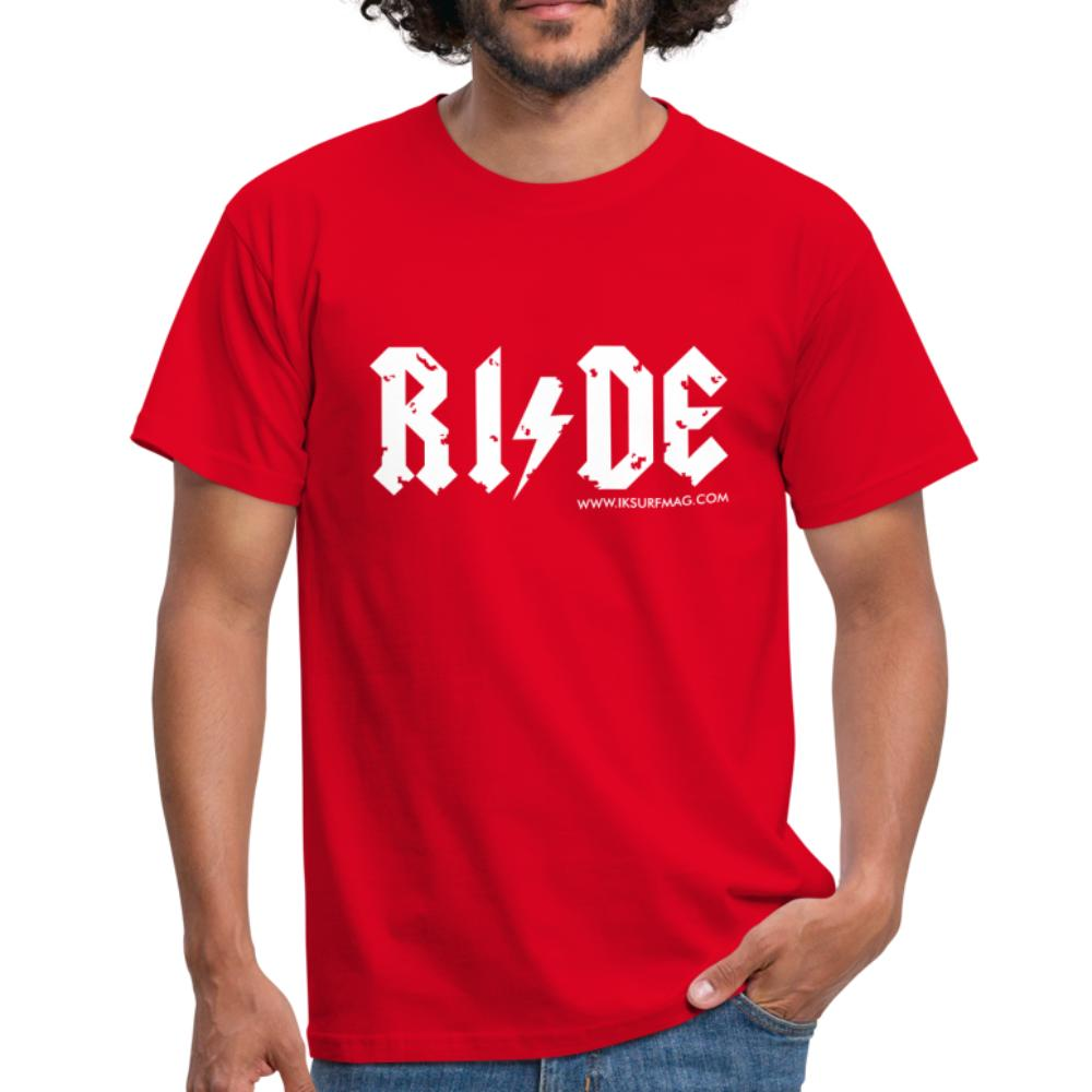 RIDE - Men's T-Shirt - red