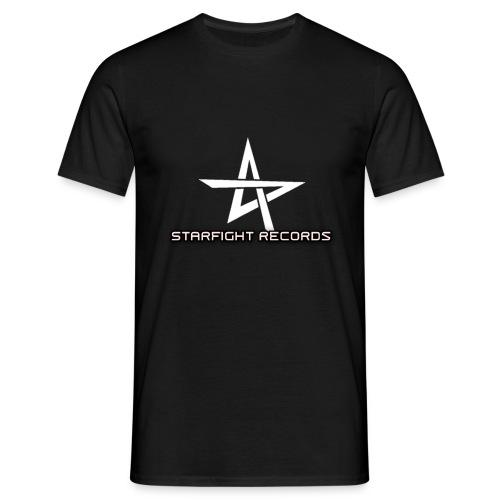 Starfight Records Retro Design - Männer T-Shirt