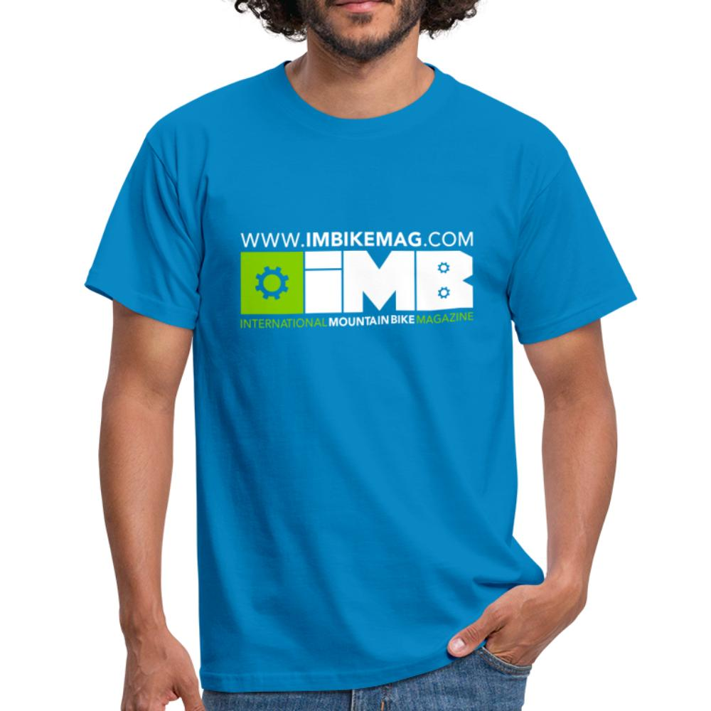 IMB Logo - Men's T-Shirt - royal blue