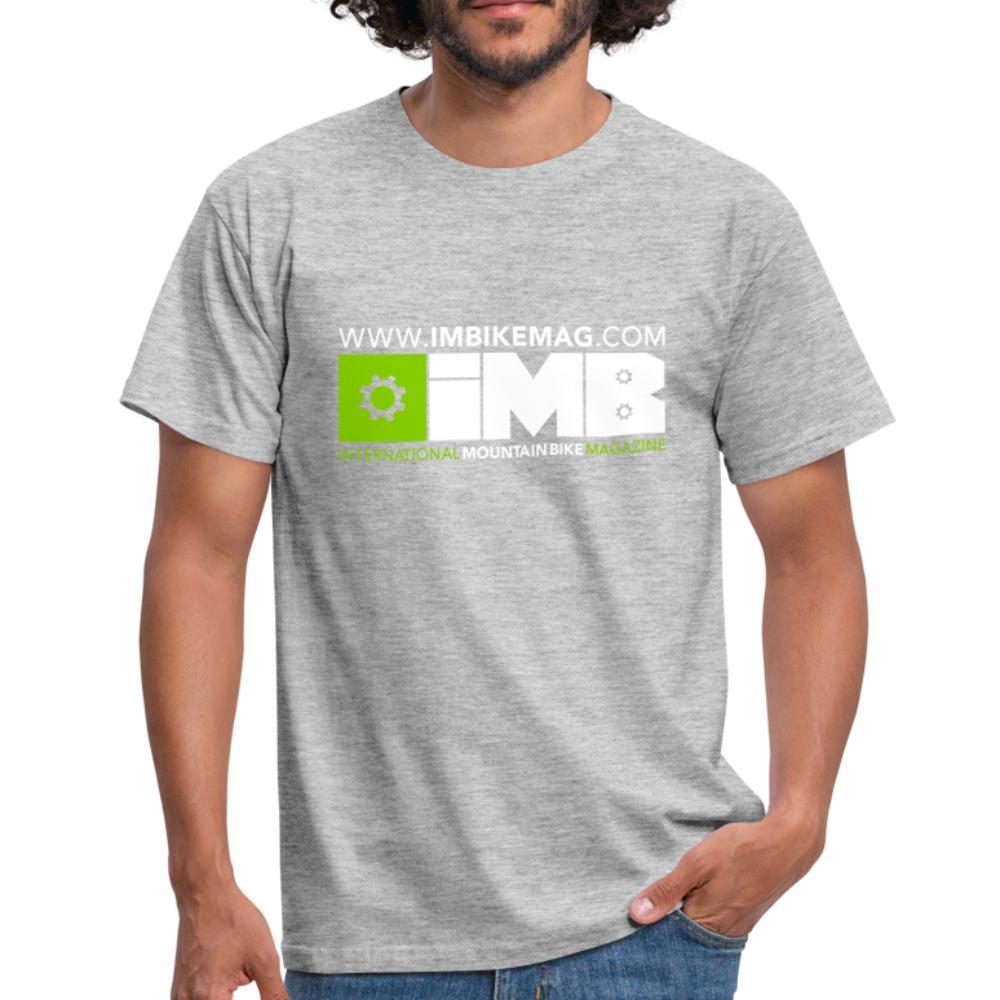 IMB Logo - Men's T-Shirt - heather grey
