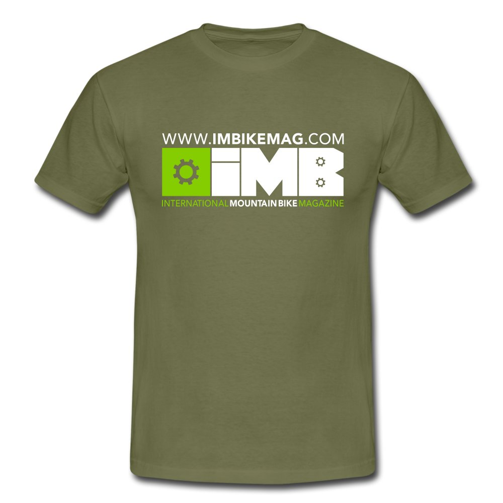 IMB Logo - Men's T-Shirt - khaki green