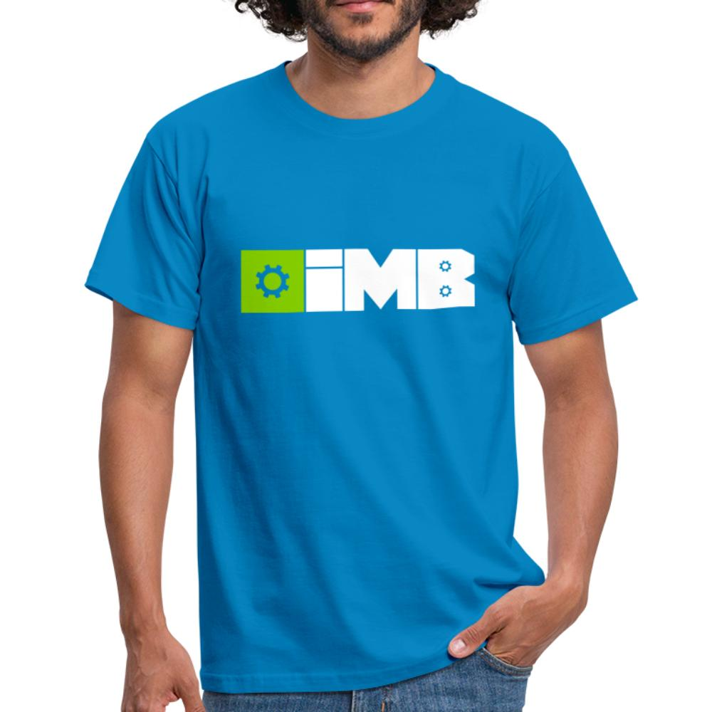 IMB Logo (plain) - Men's T-Shirt - royal blue