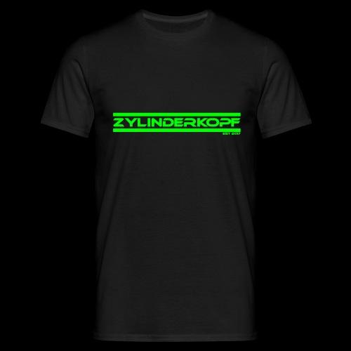 Zylinderkopf classic green Edition - Männer T-Shirt